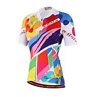Miloto Biciklistička majica Žene Kratkih rukava Bicikl Shirt Sportska majica Biciklistička majica Majice Odjeća za vožnju biciklom Quick