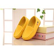 tanie Obuwie dziewczęce-Dla dziewczynek Obuwie PU Lato Mokasyny i pantofle na Czerwony / Niebieski / Różowy