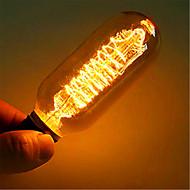 billige Glødelampe-industridesigner retro Edison lampe / tungsten filament glødelampe 40W 220V