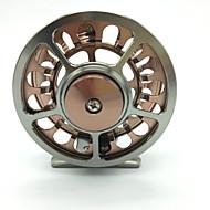 cheap Fishing-Ice Fishing Reels Fly Reels 1:1 Gear Ratio+2 Ball Bearings Exchangable Fly Fishing Bait Casting - HR-90