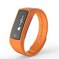 tanie Inteligentne zegarki-Inteligentne Bransoletka 1 na iOS / Android / iPhone Spalone kalorie / Długi czas czuwania / Odbieranie bez użycia rąk / Regulator czasowy / Ekran dotykowy / Wodoszczelny / Kamera / aparat / Sportowy
