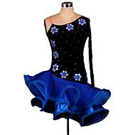 Skal vi latin danse kjole kvinders performance ruffles kjole