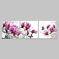 voordelige -Abstract Drie panelen Kangas Vaakatasoinen panoraama Print Muurdecoratie Huisdecoratie