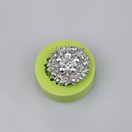 Mat klasse silikon materiale kreative smykker formet kake dekorasjon mold farge tilfeldig