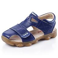 baratos Sapatos de Menino-Para Meninos Sapatos Couro Verão Sandálias Caminhada Velcro para Amarelo / Azul