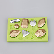 mad kvalitet silikone skimmel vanddråber form fondant kage dekorere skimmel ramdon farve
