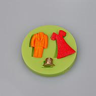 billige Bakeredskap-Bakeware verktøy Silikon Økovennlig / Non-Stick / Ny ankomst Kake / Til Småkake / For Småkake Cake Moulds 1pc