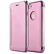 Θήκη Za Apple iPhone X iPhone 8 Zrcalo Zaokret Korice Jedna barva Tvrdo PC za iPhone X iPhone 8 Plus iPhone 8 iPhone 7 Plus iPhone 7