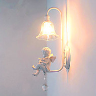 billige Vegglamper-den amerikanske moderne enkel europeisk stil stue balkong soverom nattbordlampe kreativ gangen vegg engel