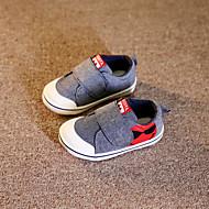 ユニセックス 赤ちゃん 靴 キャンバス 春 秋 フラット のために カジュアル グレー レッド