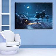 Landscape Canvas Tulosta One Panel Valmis Hang , Pysty