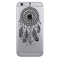 billiga Mobil cases & Skärmskydd-fodral Till Apple iPhone X iPhone 8 iPhone 6 iPhone 7 Plus iPhone 7 Mönster Skal Drömfångare Mjukt TPU för iPhone X iPhone 8 Plus iPhone