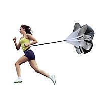 tanie Sprzęt i akcesoria fitness-Speed Chute - Resistance Spring Trainer Z 1 pcs Poliester / Nylon 3D, 25-35 kg odporności Trening siłowy, Trening oporowy, Trenerzy sportowi Dla Fitness / Koszykówka / Piłka nożna Dla obu płci