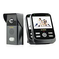 kivos® kdb303 trådløs video doorbell hjem vanntett ringeklokke kamera telefonsamtale