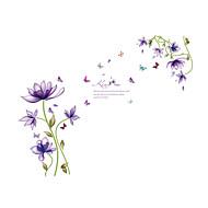 Animais / Natal / Floral Wall Stickers Autocolantes de Aviões para Parede Autocolantes de Parede Decorativos / Autocolantes de Medição,PVC
