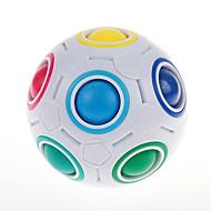 Rubiks terning YongJun Magic Rainbow Ball Let Glidende Speedcube Magic Rainbow Ball Puslespilsbold Puslespil Terning Professionelt niveau