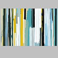 billiga Abstrakta målningar-Hang målad oljemålning HANDMÅLAD - Abstrakt Europeisk Stil Moderna Parfymerad Duk