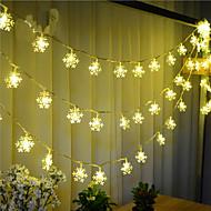 100-led 10 m sneeuw licht waterdicht plug outdoor vakantie decoratie licht led string licht