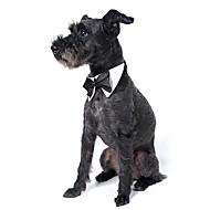 Pes Vázanka/Motýlek Oblečení pro psy Roztomilý Svatba Mašle Bílá Černá Oranžová Žlutá Zelená Kostým Pro domácí mazlíčky