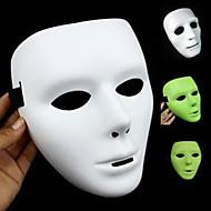 máscara de Halloween Wuke Ghost Dance luminosa máscara branca da dança dança da máscara Wuke máscara de hip-hop