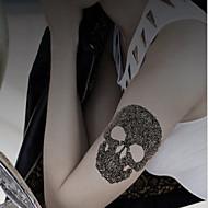 1 Tatouages Autocollants Autres Non Toxique Motif Halloween Bas du Dos ImperméableHomme Femme Adulte Mâle Adolescent Tatouage Temporaire