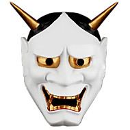 tokyo ghoul japanse horror eng spook prajna hannya spookmasker halloween maskerade cosplay masker feest kostuum prop