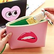 moda moderna moda moderna menina de armazenamento criativo saco de armazenamento (cores aleatórias)