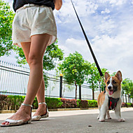 Koşum Takımı Köpek Oto Koltuğu Tasması / Köpek Emniyet KemeriAyarlanabilir/İçeri Çekilebilir Su Geçirmez Nefes Alabilir Araba İçin Koşma