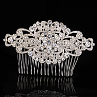 cheap Headpieces-Vintage Rhinestone/Crystal/Diamomd Wedding Hair Comb For Bridal Party