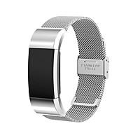 Ремешок для часов для Fitbit Charge 2 Fitbit Миланский ремешок Нержавеющая сталь Повязка на запястье
