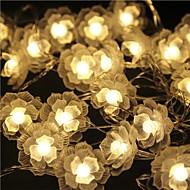 40-led 5m ster licht waterdicht plug outdoor vakantie decoratie licht geleid snaar licht