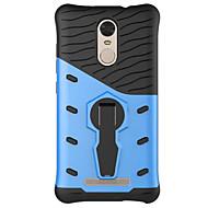 billiga Mobil cases & Skärmskydd-fodral Till Xiaomi Mi-fodral Dammtät Stötsäker med stativ Skal Rustning Mjukt Silikon för Xiaomi Redmi Note 3