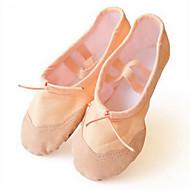 billige Ballettsko-Kan ikke spesialtilpasses-Barn-Dansesko-Ballett-Stoff-Flat hæl