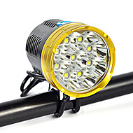 Pandelamper Forlygte LED 18000 lm 1 Tilstand Cree XM-L T6 Passer til Køretøjer Lygtehoved Super let Camping/Vandring/Grotte Udforskning