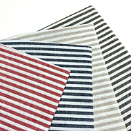 billige Bordduker-Kvadrat Stripete Bordskånere / Serviet , Lin/Bomull Blanding Materiale Tabell Dceoration 4