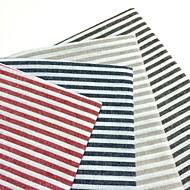 Kvadrat Stripete Bordskånere / Serviet , Lin/Bomull Blanding Materiale Tabell Dceoration 4