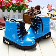 お買い得  子供用ハイカット-女の子 靴 PUレザー 冬 コンフォートシューズ / スノーブーツ ブーツ ウォーキング 編み上げ のために イエロー / レッド / ブルー