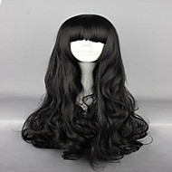 Anime Rwby Blake Belladonna Black 70cm Long Wavy High Quality Synthetic Fashion  Women Cosplay Wigs