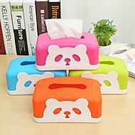 bandeja de tecido caixa cartoon linda mesa de jantar de libertação (cores aleatórias)