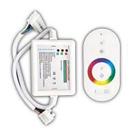 billige Lysbrytere-zdm 1pc hvit fjernkontroll 216w trådløs berøring rbg led lysbar kontroller / mottaker dc12-24v
