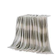 フランネル グレー,純色 純色 ポリエステル100% 毛布 200x230cm