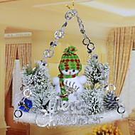 voordelige Woondecoratie-Holiday Decorations Sneeuwvlok  Ornamenten Kerstmis 1pc