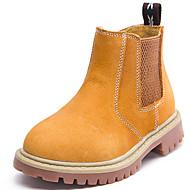 baratos Sapatos de Menino-Para Meninos Sapatos Pele Napa Outono / Inverno Conforto / Botas Cowboy / Country Botas para Azul Escuro / Marron / Botas Curtas / Ankle
