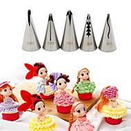 baratos Utensílios para Confeitaria-Ferramenta de decoração Cupcake Bolo Aço Inoxidável Alta qualidade