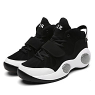 Big Sizes Men's Athletic Shoes Flat Heel Lace-up Black / White / Black and Red Basketball EU39-45