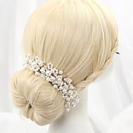 baratos -Imitação de Pérola / Liga Headbands com 1 Casamento Capacete