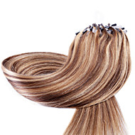 Neitsi 20'' 50g Straight Micro Ring Loop Links Ombre Human Hair Extensions 1g/s 100% Remy Hair