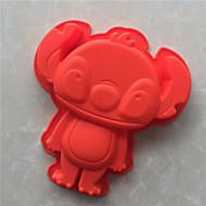 billige Bakeredskap-Bakeware verktøy Silikon Non-Stick / 3D / GDS Brød / Kake / Til Småkake Bakeform