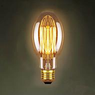 billige Glødelampe-e27 40w C75 rett tråd restaurant kjøpesentre edison antikk retro dekorativ belysning bar