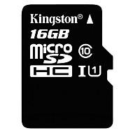 baratos Cartões de Memória-Kingston 16GB TF cartão Micro SD cartão de memória UHS-I U1 class10